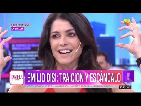 Revelaron el romance oculto de Emilio Disi con una famosa actriz