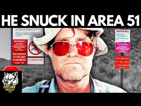 Man Sneaks In U0026 Survives A WEEK Inside Area 51: His Story Is UNBELIEVABLE! Area 51 Documentary