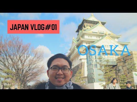BACKPACKER MURAH KE OSAKA, JEPANG | JAPAN#VLOG01