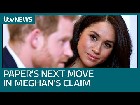 Mail On Sunday To Use Public Interest Defence In Meghan Legal Claim | ITV News
