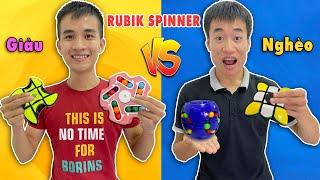 Rubik Con Quay Spinner Nhà Giàu Vs Rubik Con Quay Spinner Nhà Nghèo