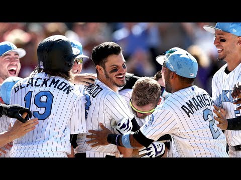 Nolan Arenado completes first cycle of career to get the Colorado Rockies walk-off win
