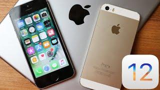Older Devices Got Lucky With iOS 12 (iPhone 5S, iPad Air, iPad Mini 2, iPod)