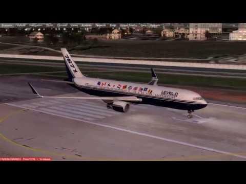[P3DV4] Level-D 767 300ER Super Merge QualityWings 757 300