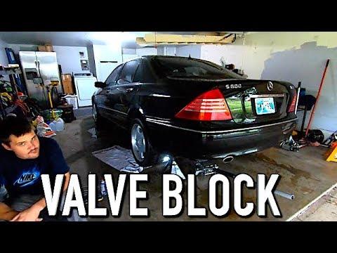 W220 Airmatic Valve Block