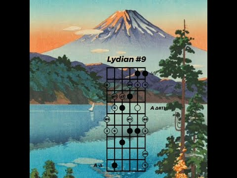 The Lydian #9 mode on guitar