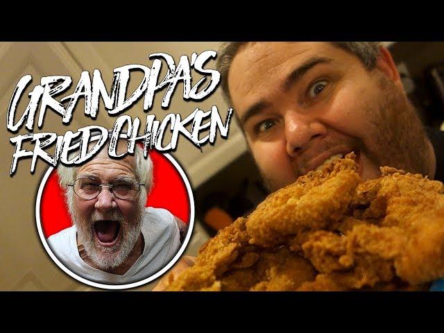 GRANDPAS FRIED CHICKEN!