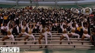 """Backstabbers"" Alabama State Marching Band and Stingettes - 2019 ASU at UAB"