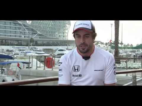 Fernando Alonso analiza la temporada 2016.