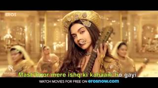 Deewani Mastani | Video SONG with Sync LYRICS | Bajirao Mastani