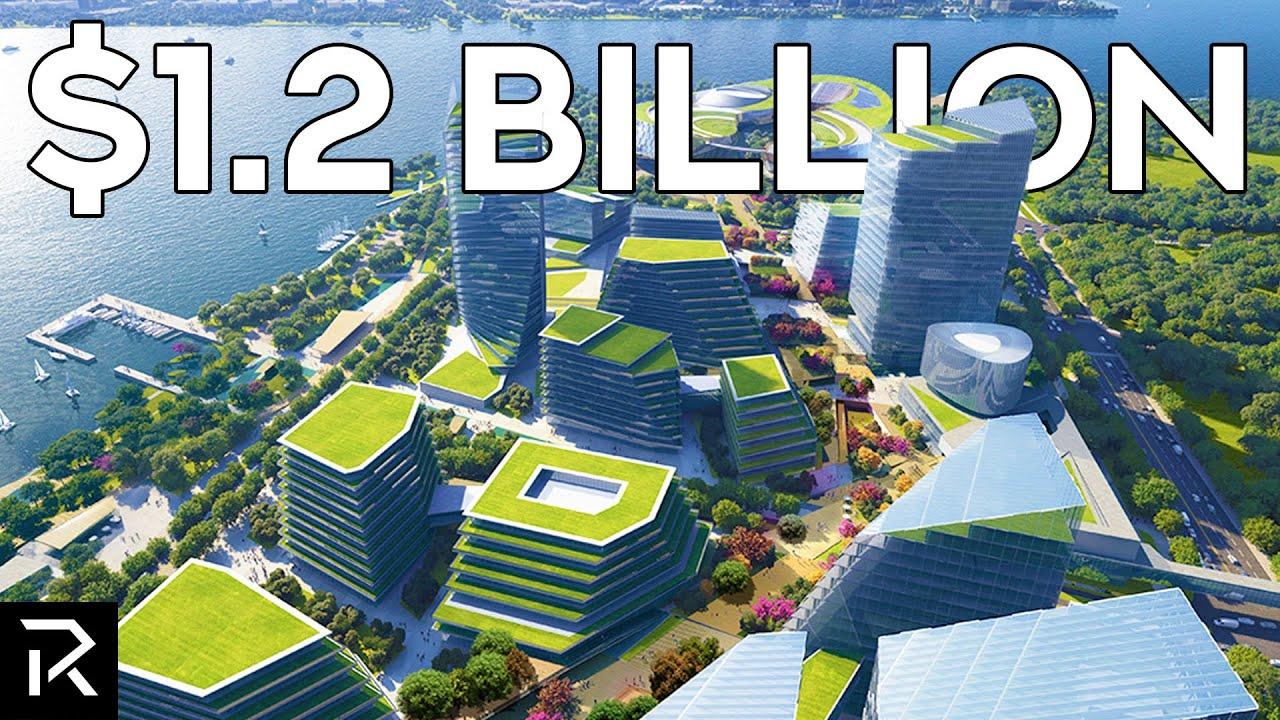 China is Building a .2 Billion Futuristic City