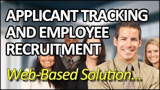 Applicant tracking and employee recruitment in canada - enetemployer hr software