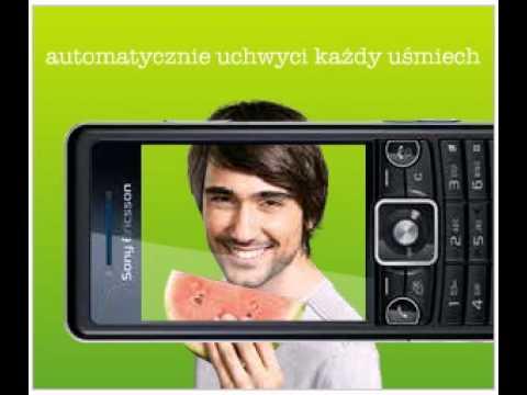Sony Ericsson C510 - reklama funkcji Smile Shutter