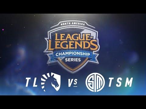 TL vs. TSM - Week 1 Day 1   NA LCS Spring Split   Team Liquid vs. TSM (2018)