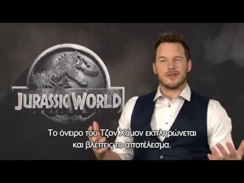 "Chris Pratt interview for ""Jurassic World"" and his fitness regime"