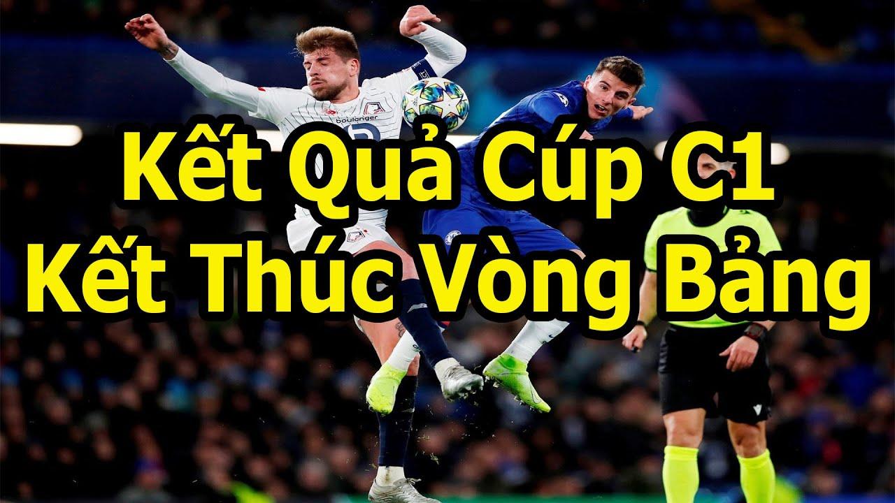 Kết Quả Cúp C1 – Danh Sách 16 Đội Vào Vòng Knock-Out Và 8 Đội Dự Europa League