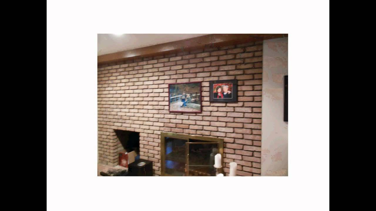 How To Hang Stuff Easily On A Brick Wall Or Fireplace Without Drilling Holes You