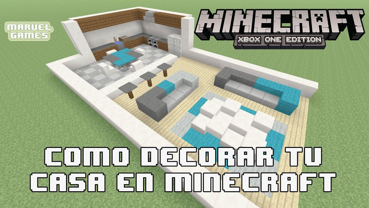C mo decorar tu casa en minecraft xbox one 360 ps3 ps4 for Casa moderna minecraft xbox 360