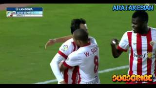 Video Gol Pertandingan Almeria vs Granada