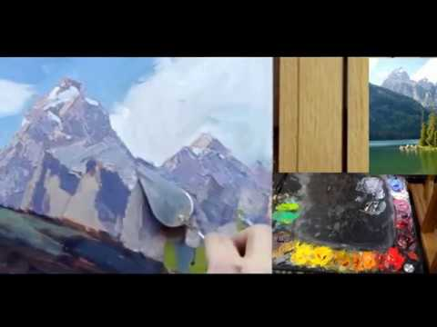 Finishing a painting | complete | impressionism | composition | how to | oil painting | complete