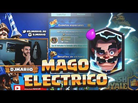 DESAFÍO DEL MAGO ELÉCTRICO | CLASH ROYALE !!
