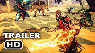 PS4 - Extinction: Cinematic Story Trailer (Humans vs Titans Game, 2018)