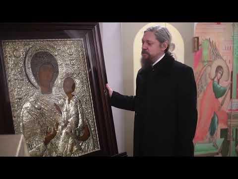 Храмовая икона подаренная президентом Казахстана