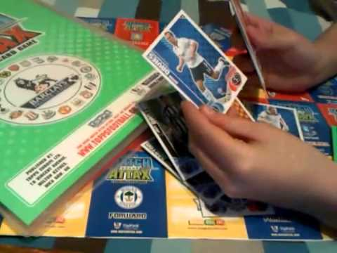 Match Attax 2010/11 SIGNED MATCH ATTAX FOR TRADE (PROOF IN VIDEO)