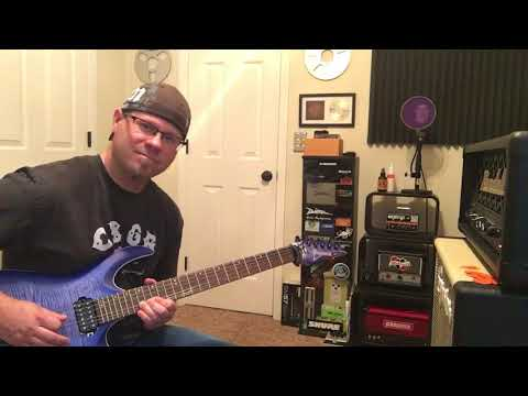 """Randall Diavlo (Fortin Designed) with Mooer 001 Preamp Pedal """"Metal Tone"""""""