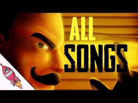 ALL HELLO NEIGHBOR RAP SONGS   Rockit Gaming