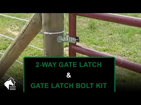 Horse Fence Gate Latch From Ramm Horse Fencing And Stalls