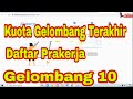 Login www.prakerja.go.id untuk Daftar Kartu Pra Kerja Gelombang 10 Kuota Prakerja Gelombang Terakir