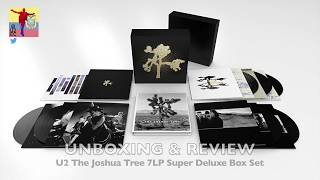 "U2 - The Joshua Tree Deluxe 7LP ""UNBOXING & REVIEW"""