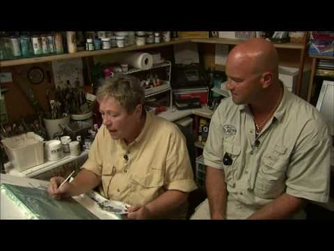 Wildlife Art Gallery Episode 9 Linda Thompson Courtesy of the Outdoor Channel