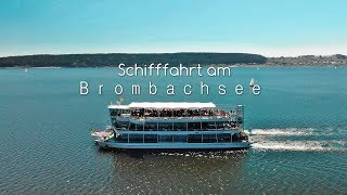 Schifffahrt am Brombachsee 4K
