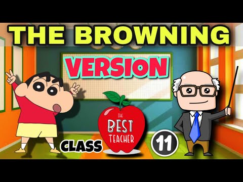 The Browning Version   Class 11   Full ( हिंदी में ) Explained   Hornbill book by  Terence Rattigan