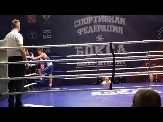 Всероссийские соревнования по Боксу кубок Никифорова Денисова