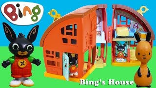 Bing Bunny House Toy Unboxing BBC Cbeebies Bing TV Show | Kids Play O'Clock Toys Review