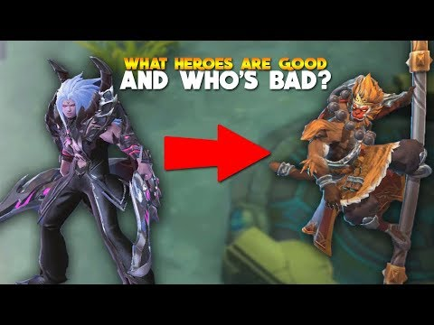 ALL Heroes RANKED From Best to Worst! Mobile Legends