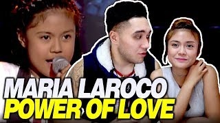 Maria Laroco (Giedie Laroco) & SHAY React To 'Power of Love' by Giedie | The Voice Kids Philippines