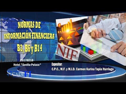 CADEFI - SEMINARIO Normas de Información Financiera NIF B3, B6 Y B14 - 18 de febrero del 2017