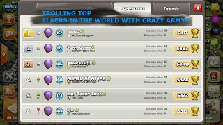EPISODE 2 - TROLLING TOP PLAYERS - ALL WALLBREAKERS - CLASH OF CLANS