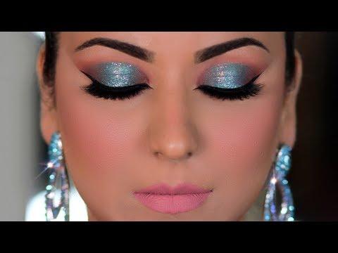 (हेलो आई मेकअप कैसे करें) Step-By-Step Halo Eyeshadow Makeup Tutorial for Beginners (Hindi)