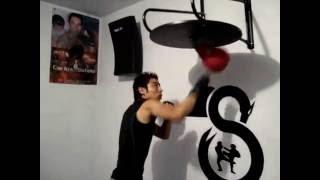 Boxing Carlos Sotelo (Speedbag)