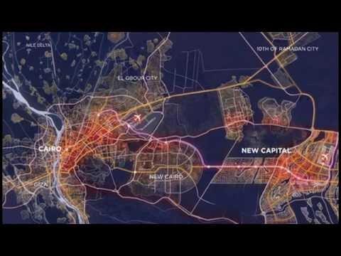 Egypt Unveils Blueprints for New $45 Billion 'World Capital' City