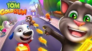 Talking Tom Gold Run - Outfit7 Limited Snow Ride Day 11 Walkthrough