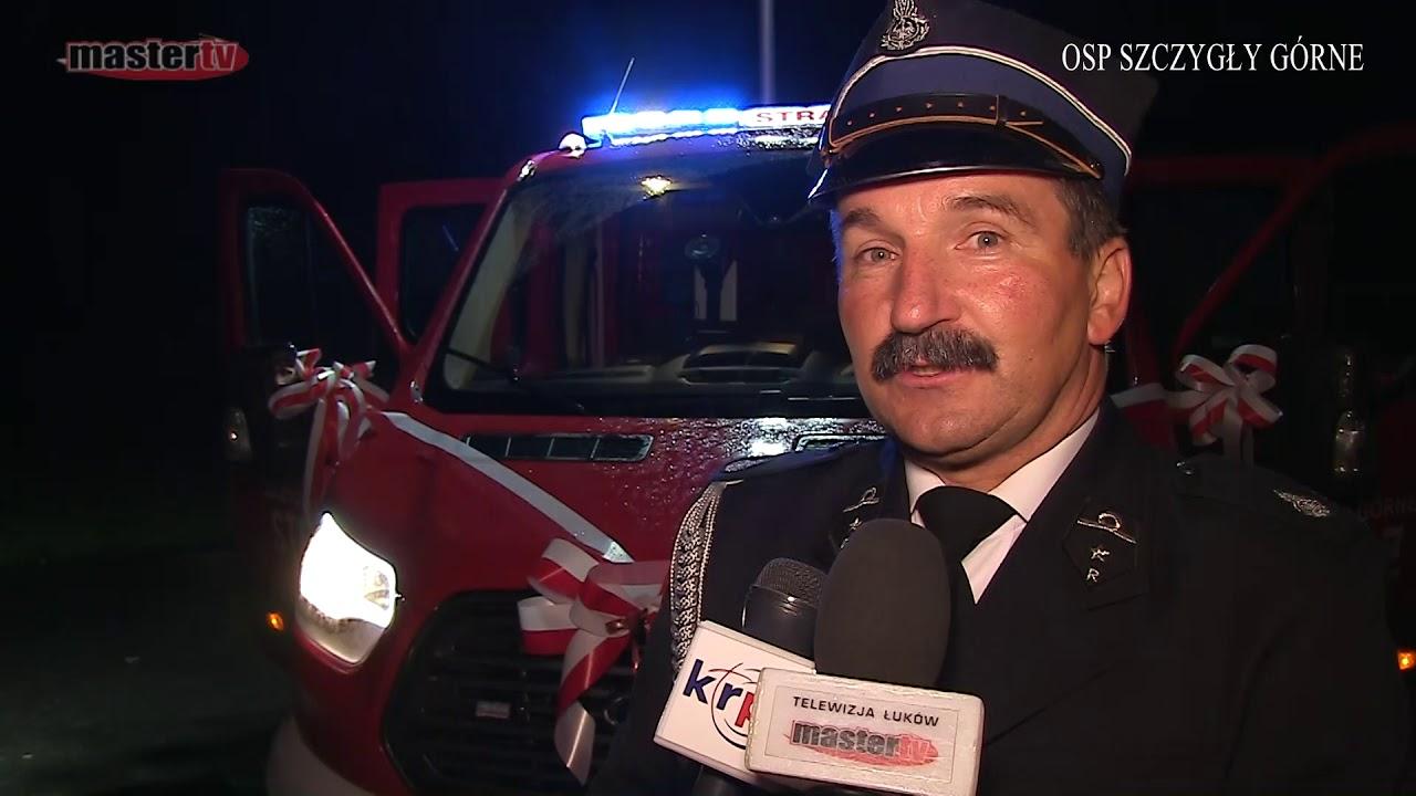 MASTER TV ŁUKÓW – Nowy wóz strażacki OSP Szczygły Górne