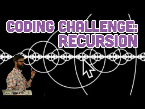 Coding Challenge #77: Recursion