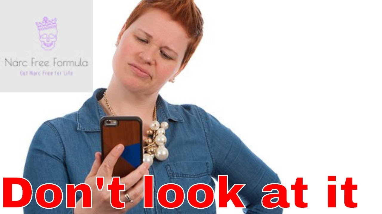 Thinking about checking the Narcissists social media - watch this