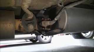 Lexus Rx300 Замена второго датчика кислорода